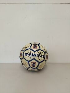 Ipswich Town Signed Football Ball