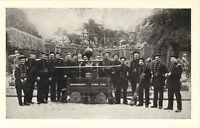 postcard -  brockenhurst park 1720 (fire brigade) 1950s or 60s