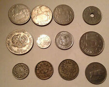 LOT 12 PIECES EUROPE
