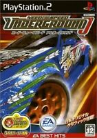 Need for Speed Underground Best Hits PS2 Electronic Arts Playstation 2 Japan