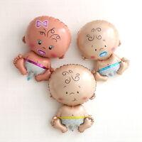Fille bébé douche feuille géant baptême ballons décoration enfantsIHSTRFR