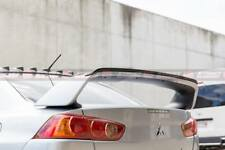 Gurney Flap For Street Element Mitsubishi CJ Lancer EVO X Style Trunk Spoiler