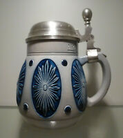 Jugendstil Bierkrug 0,5 Liter, Marzi & Remy Modellnr. 2174, 1880 bis 1935