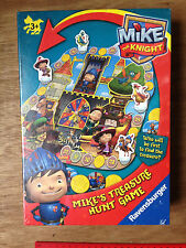 MIKE THE KNIGHT Mike's Treasure Hunt Game Ravensburger Age 3 years+ 2-4 players
