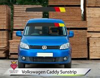 VW Sun Strip Caddy Van Sunstrip Decals Volkswagen Any Colour Custom 9