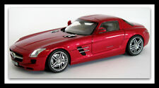 wonderful diecast PR-modelcar MERCEDES SLS AMG COUPE 2010 - redmetallic - 1/43