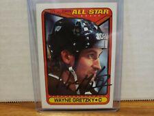 1990 Topps All Star # 199 Signed Wayne Gretzky LOS ANGELES KINGS COA