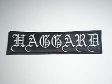 HAGGARD EMBROIDERED PATCH