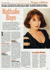 ▬► CLIPPING Nathalie Baye 1 page 1994