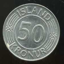 ISLANDE 50 kronur     1978