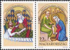 UNGHERIA 1995 Saint Elizabeth/Santi/Religione/arte/DIPINTI 1 V + LBL (n45648)