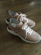 Hogan Damen Sneaker, Rosa, Gr. 38, Leder