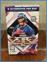 1 New Factory Sealed 2020 Baseball Topps Fire Hobby Box Guaranteed 2 Autographs