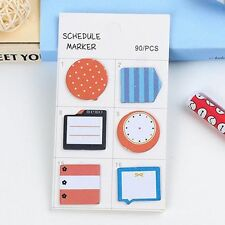 Index Paper Sticker Sticky Notes Post It Bookmark Notebook Memo Pad Stationery