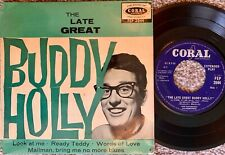BUDDY HOLLY  RARE EP  'THE LATE GREAT' FEP2044