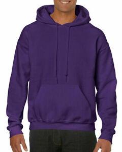 Gildan Heavy Blend Hooded Sweatshirt Hoodie Sweat Hoody Small Purple