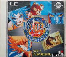 BURAI    PC ENGINE CD ROM 2 HE SYSTEM NEC  JAPAN  JAPANESE JAPONAIS