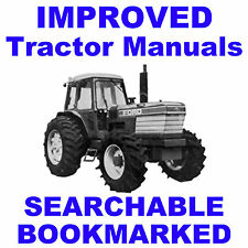 Ford 9000 9600 9700 Tractor Service Repair Shop Manual SEARCHABLE BOOKMARKED CD