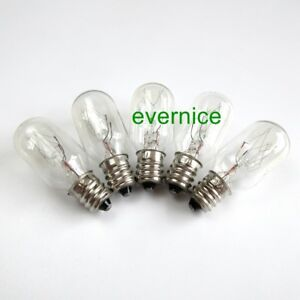 Screw In Clear Light Bulbs 220V 15W For Singer Babylock Brother Janome New