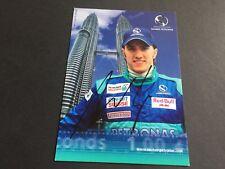 NICK HEIDFELD Formel 1 183 RENNEN In-Person signed 10x15 Autogrammkarte