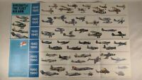 Aircraft Of The Fleet Air Arm Chart/Poster 49 Aircraft In Full Colour and a...