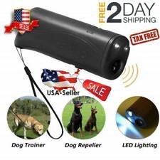 New listing Stop Dog Barking Ultrasonic Pet Trainer Led Light Gentle Chaser Dog Controller