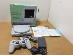 PlayStation PS one & LCD monitor COMBO SCPH-140 console -- PS1. JAPAN. used