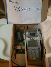 Verifone Vx520 Ctls Credit Card Terminal With Chip Reader New Open Box