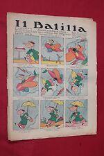 rivista a fumetti IL BALILLA Supplemento Popolo d'Italia ANNO XII N.16 (1933)
