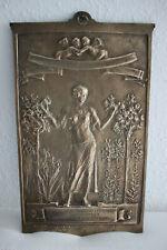 SIR WILLIAM HAMO THORNYCROFT, 1850-1925 London, Relief Bronze, Jugendstil