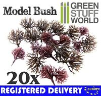 20x Bare Trunk Bush Branch 3-4 cm - Warhammer Model Bushes Scenery Landscape.