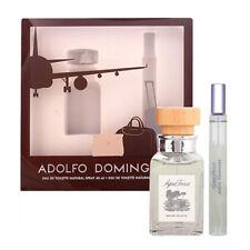 AGUA FRESCA de ADOLFO DOMINGUEZ - Colonia / Perfume 60 mL + 20 mL SET TRAVEL