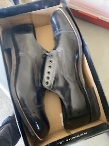 Stacy Adams Madison Black Leather Dress Shoes
