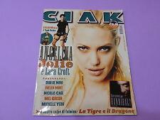 CIAK n.2 del 2001 CON SCHEDE FILM Angelina Jolie è Lara Croft