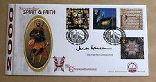 Esprit & faith 2000 benham fdcd signé par le très révérend james atwell