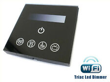 Varialuce Led Triac Dimmer SCR 220V 200W Touch Panel WiFi Interfacciabile Con Ip