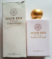 CRABTREE & EVELYN SENSATIONAL SHOWER GEL EVELYN ROSE 8.5 OZ