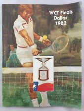 Original 1982 WCT Tennis Finals Dallas Texas Program Ivan Lendl +