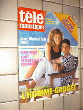 TELEMOUSTIQUE 3279 (1/12/88) TOM CRUISE ELIZABETH SHUE PFAFF CHRISTOPHE IGGY POP