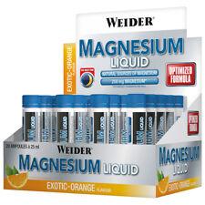 (29,58€/L) Weider Magnesium Liquid,Trinkampullen, Exotischer Geschmack