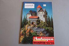 W942AUHAGEN Train maquette Ho TT N Catalogue Auhagen 1993 1994 32p 30x21 Deutch