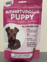 SmartyPants Dog Vitamins and Supplements, Puppy Formula - 60 SOFT CHEWS