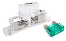 Stinger Inline Fuse Holder Maxi 4 AWG or 8 gauge Input/Output 30 AMP SFB1MAXPT