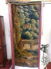18th Century Aubusson Tapestry Wall Hanging 1700's French Hand Tied