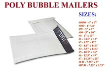 Poly Bubble Mailers Padded Envelopes Plastic Protective Packaging Empire Mailers