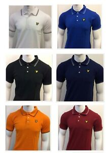LYLE AND SCOTT SHORT SLEEVE REGULAR FIT POLO SHIRT FOR ALL SEASONS