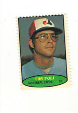 1974 TOPPS BASEBALL STAMP TIM FOLI MONTREAL EXPOS