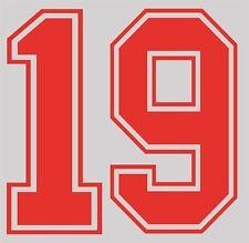 World Cup 1990 no 19 England Home Football Name set for National shirt Gascoigne