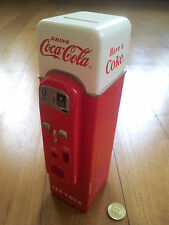 Coca-Cola V44 Vending Machine Coin Bank (VERY RARE)