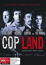 COP LAND - BRAND NEW & SEALED DVD (STALLONE, KEITEL, LIOTTA, DE NIRO) REGION 4